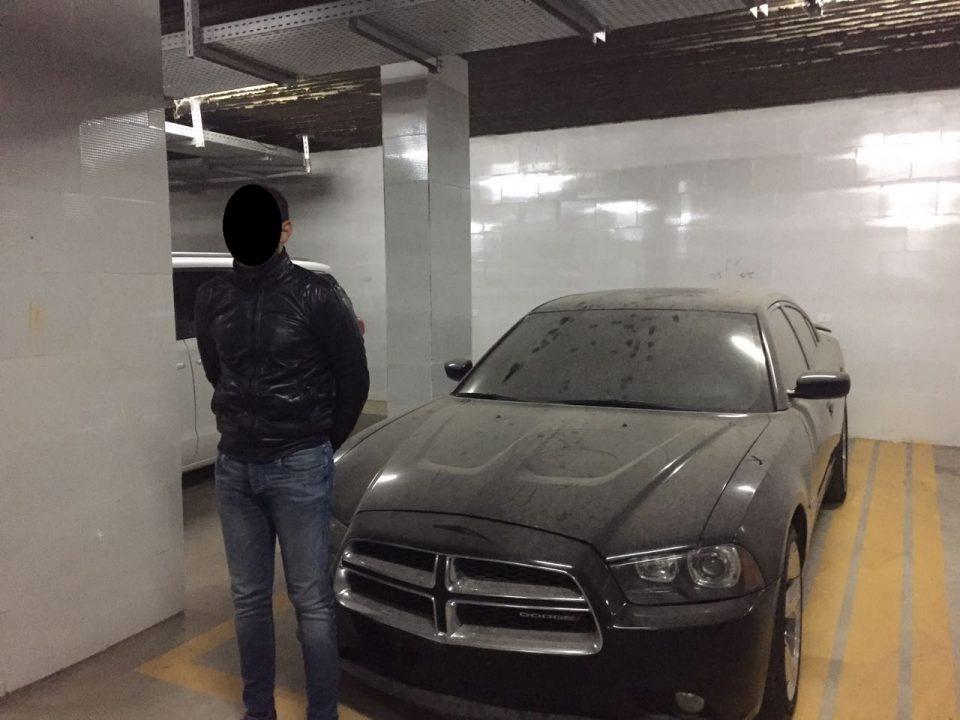 المعادى ضبط سيارات مهربة جمركيا (1)